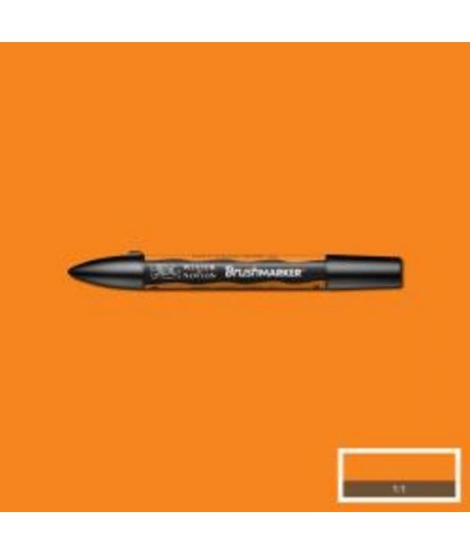 ac rotulador w&n brush marker o467-pumpkin