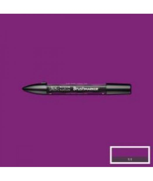ac rotulador w&n brush marker v735-plum