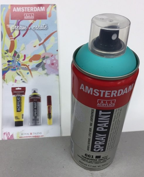ac amsterdam spray 400ml 661-verde turque.