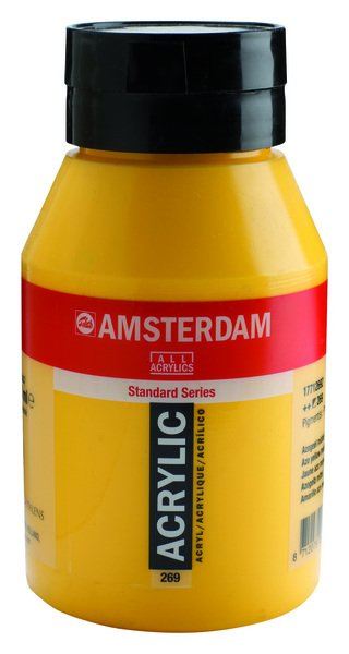 ac acrilico amsterdam 1000ml.269-amar.azo medium
