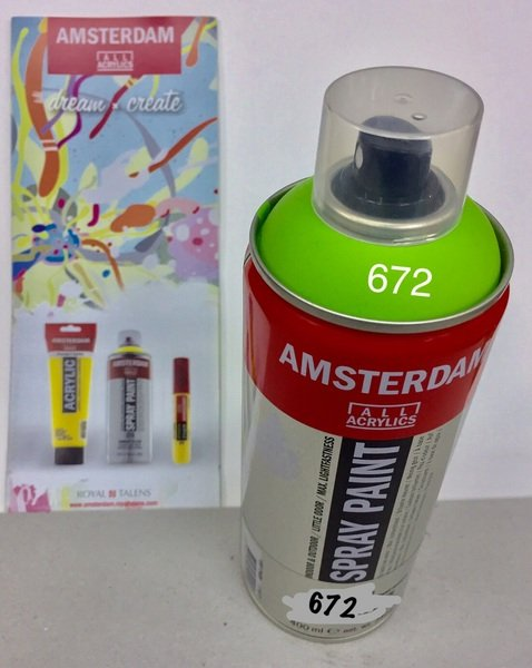 ac amsterdam spray 400ml 672-verde reflex