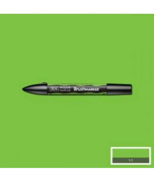 ac rotulador w&n brush marker g267-bright green